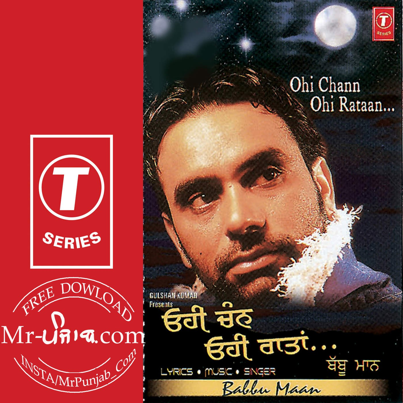 free download Ohi Chann Ohi Rataan Babbu Maan full mp3 songs