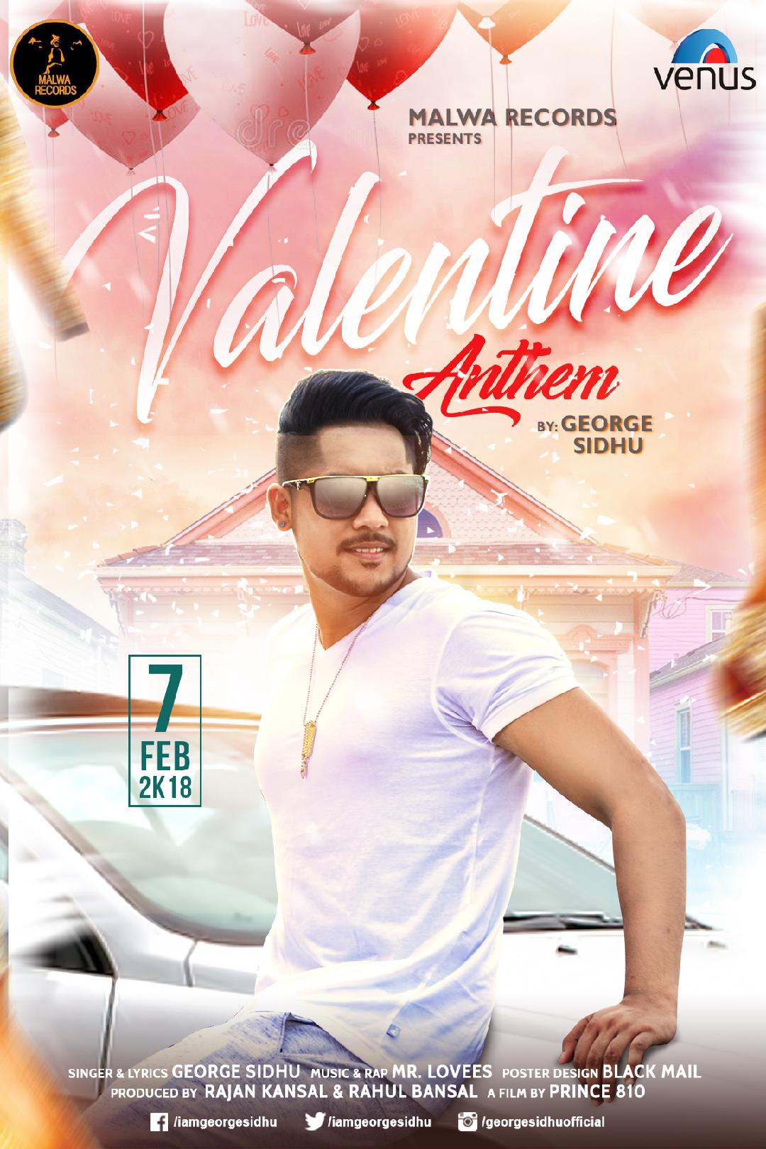 free download Valentine Anthem George Sidhu full mp3 songs
